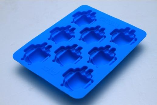 安卓小精灵硅胶冰格