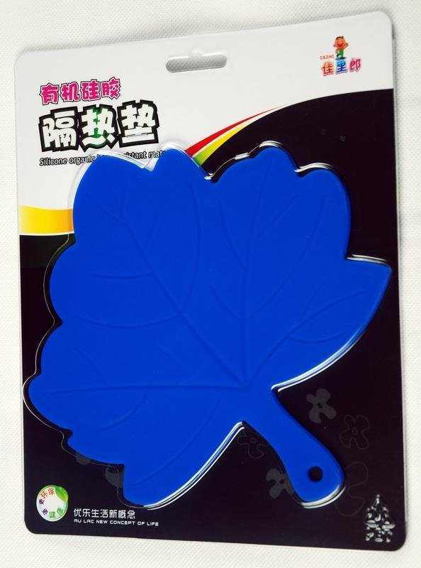 枫叶形硅胶隔热垫