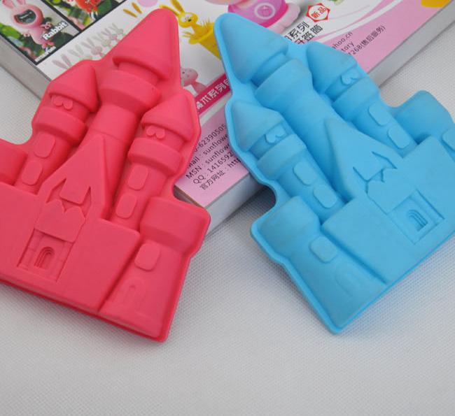 宫殿造型硅胶冰格 硅胶冰格生产厂家 硅胶冰格批发