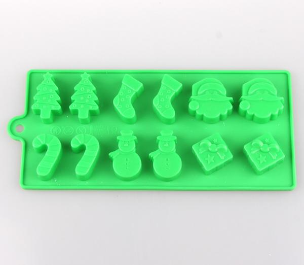 圣诞主题硅胶冰格 硅胶冰格批发 硅胶冰格生产厂家
