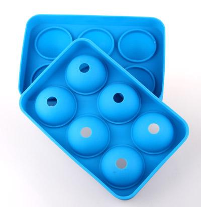 酒吧硅胶冰球 六孔硅胶冰球